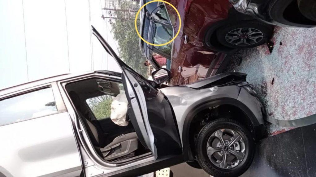 kia seltos dealer accident-1