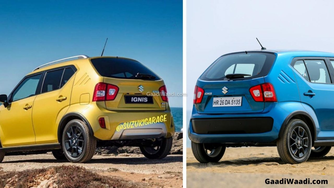 2020 Maruti Ignis Facelift vs 2018 Maruti Ignis – Top Differences