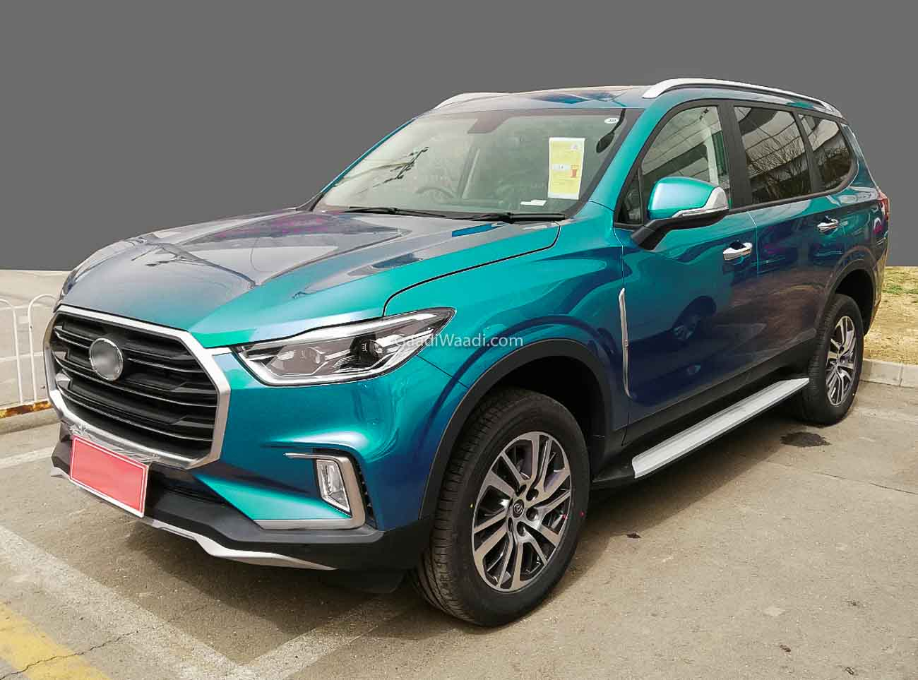 MG's Maxus D90 Based SUV To Debut At 2020 Auto Expo – Details