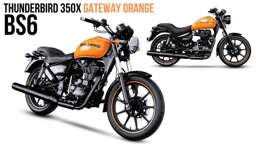 thunderbird 350x gateway orange