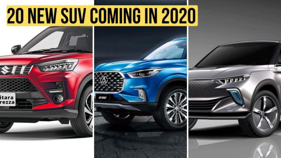 20 New Suvs Launching In 2020 In India Model Wise Details