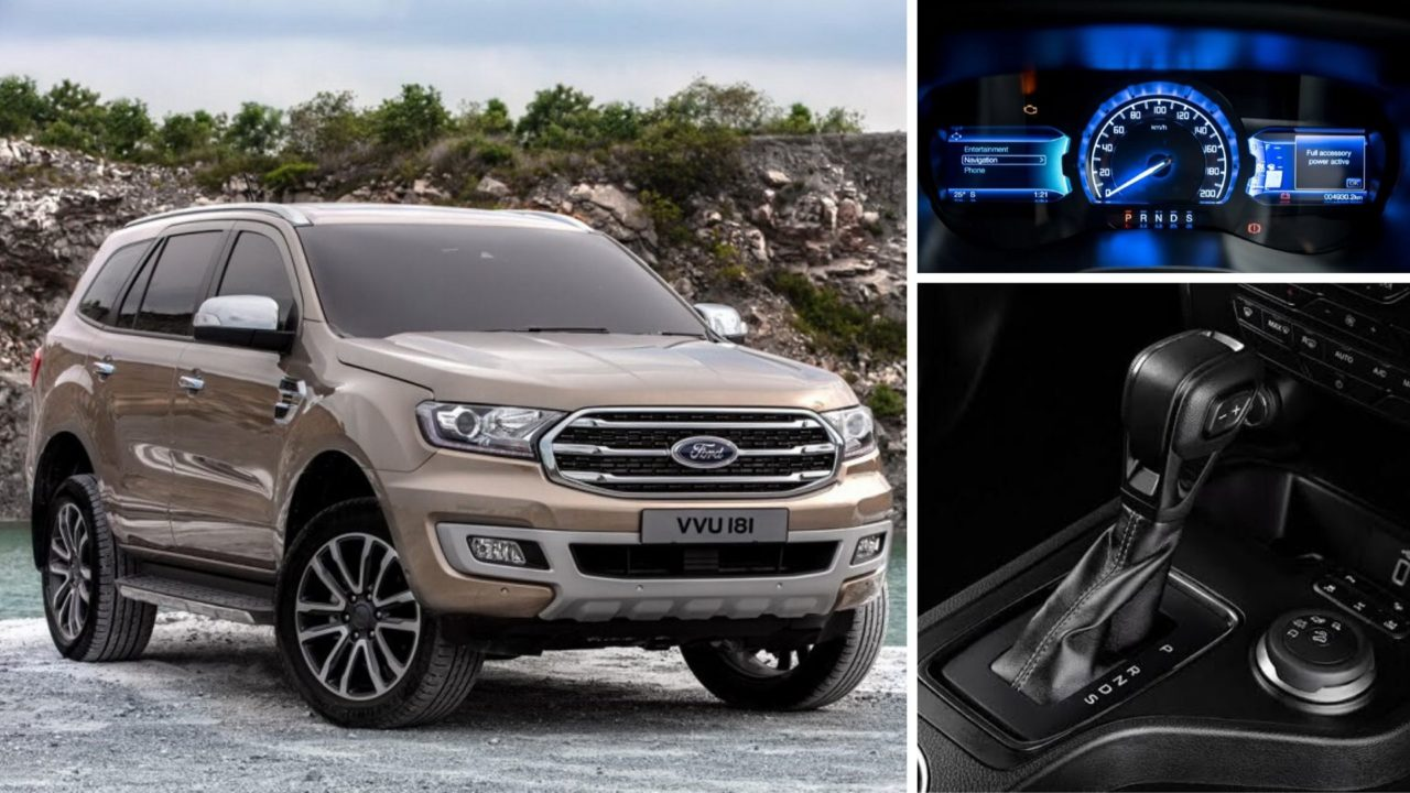 2020 Ford Endeavour BS6 2.0L Diesel With 10-Speed AT Launch Soon