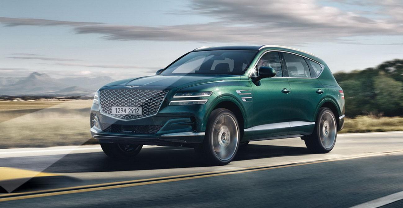 hyundai's genesis gv80 luxury suv unveiled with elegant