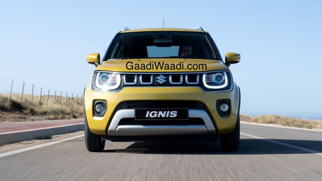 2020 Maruti Ignis facelift
