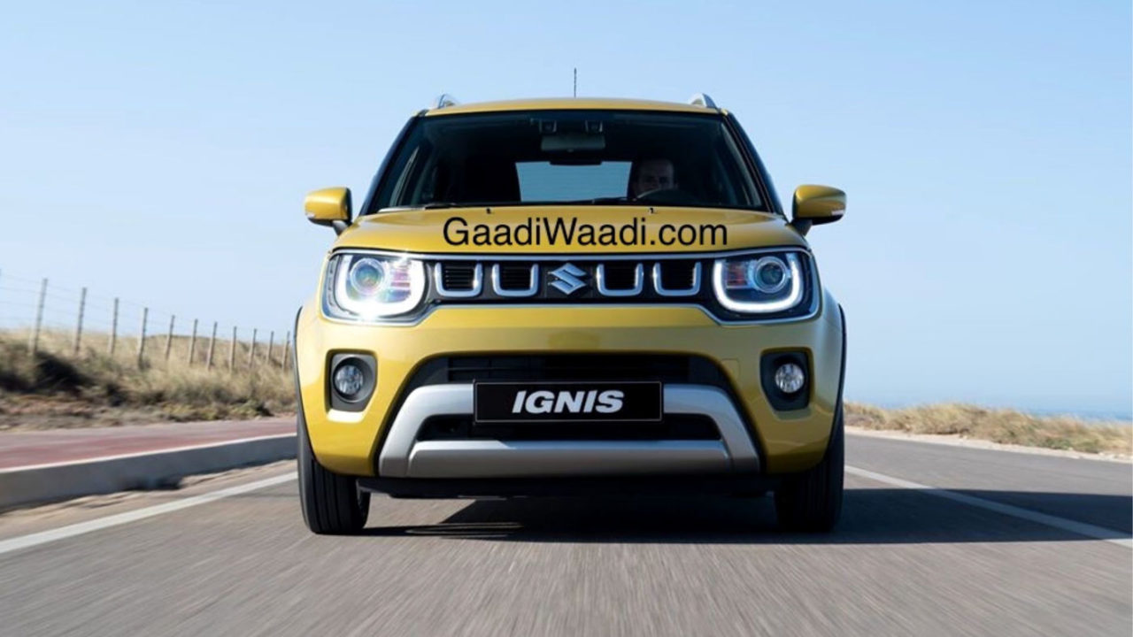 2020 Maruti Ignis Facelift Spied Undisguised In India, Launch Soon