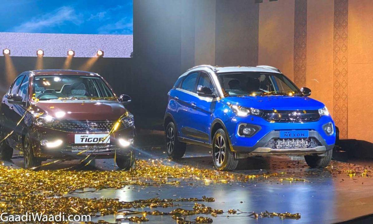 2020 Tata Tiago, Tigor, Nexon Launched 1