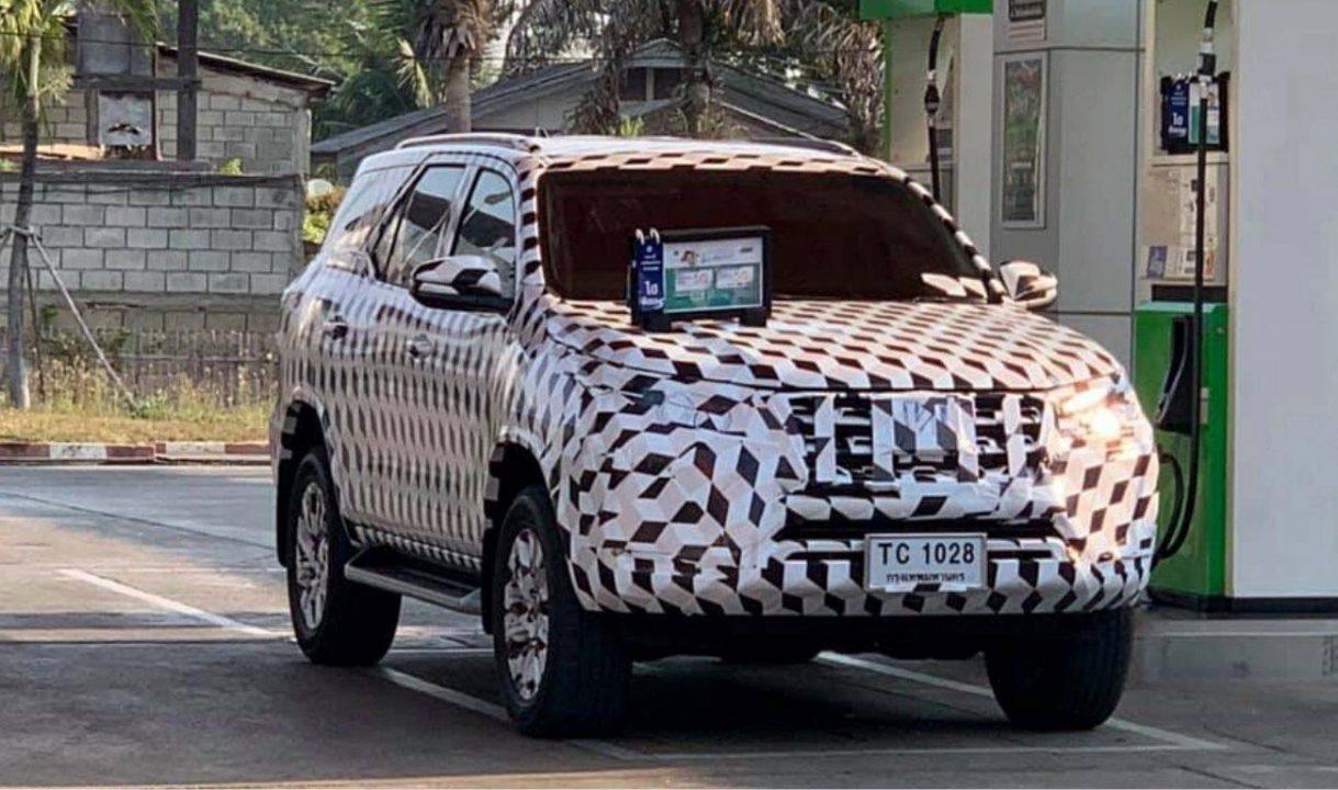 2020 Toyota Fortuner facelift