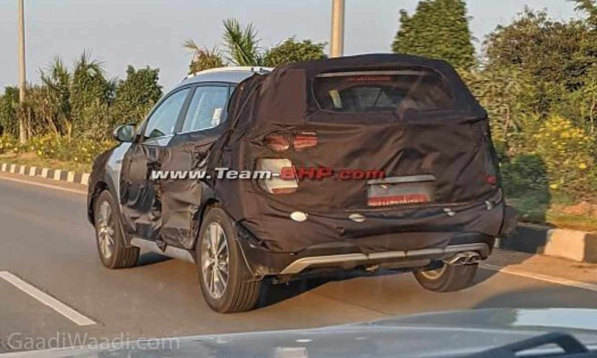 2020 Hyundai Tucson Facelift Spied Testing In India For The First Time