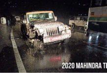 2020 mahindra thar accident-1