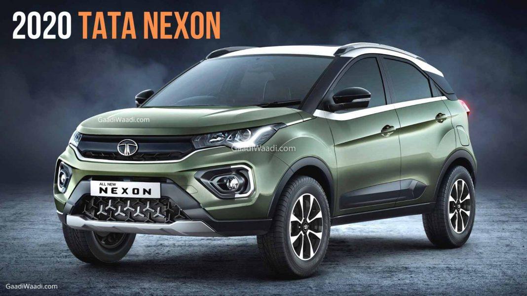 2020 new tata nexon facelift-1