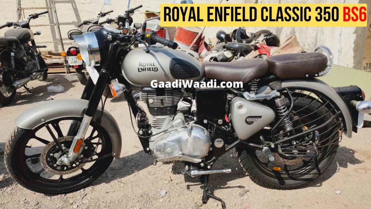 2020 royal enfield classic 350 bs6 gunmetal grey -1