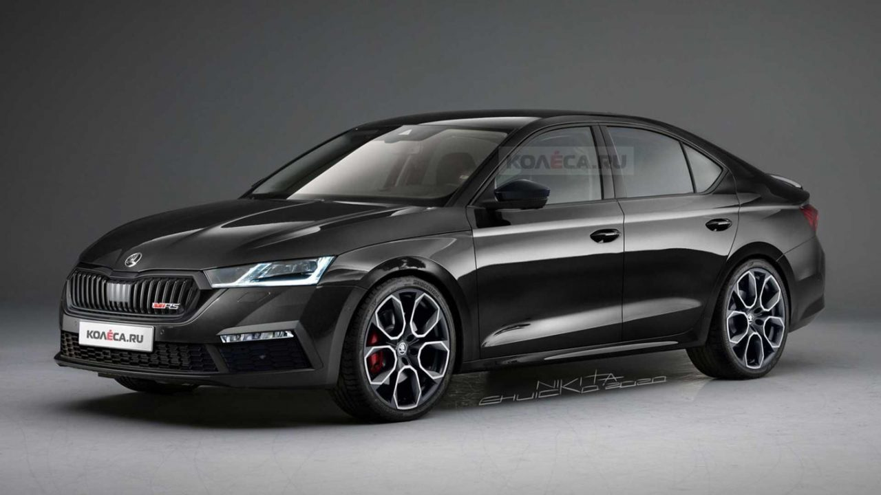 2021 Skoda Octavia RS rendering
