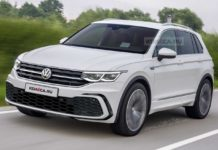2021 Volkswagen Tiguan Rendering
