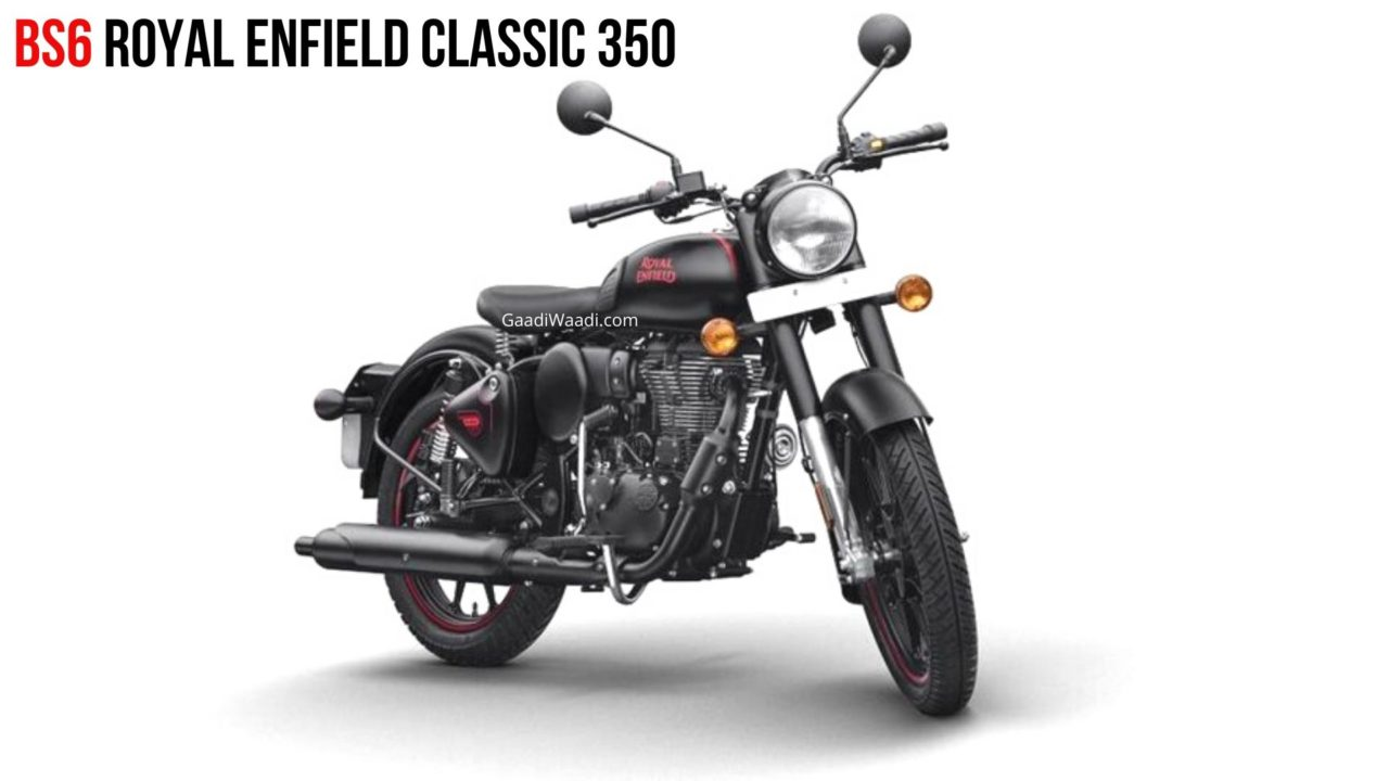 BSVI RE Classic 350 Colour-wise Prices - Stealth Black