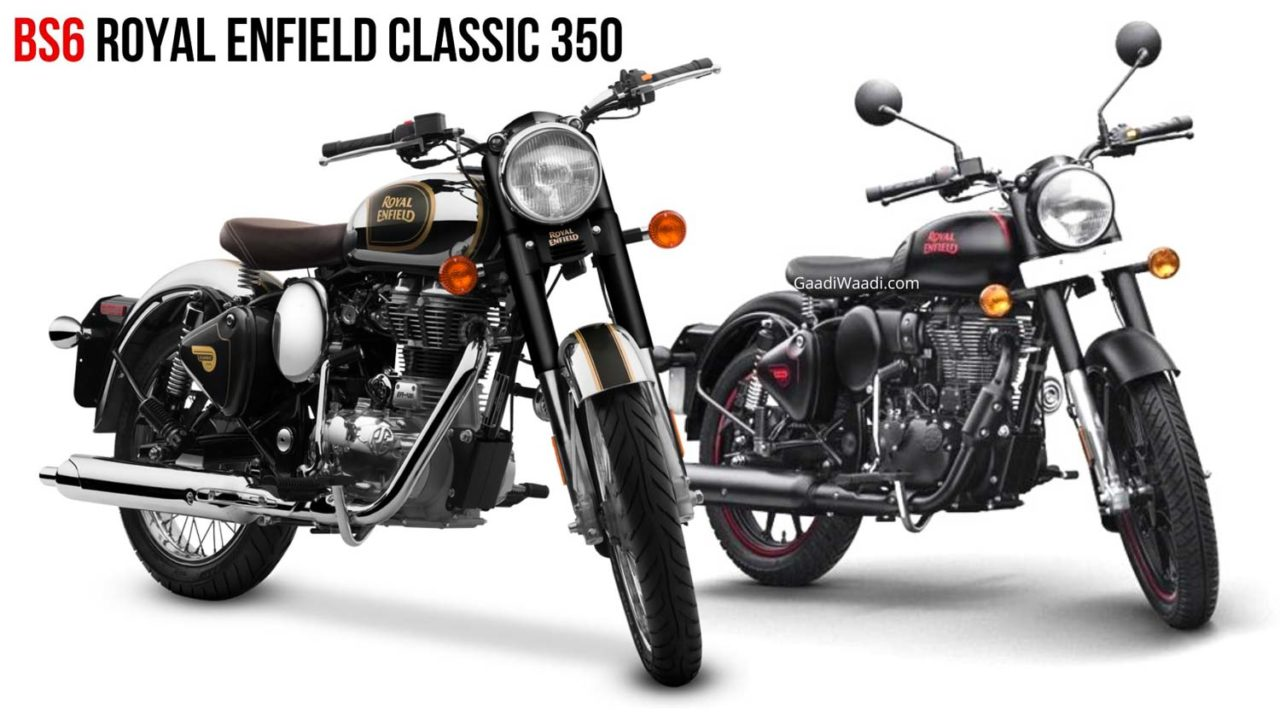 BSVI Royal Enfield Classic 350 Stealth Black Chrome Black-1