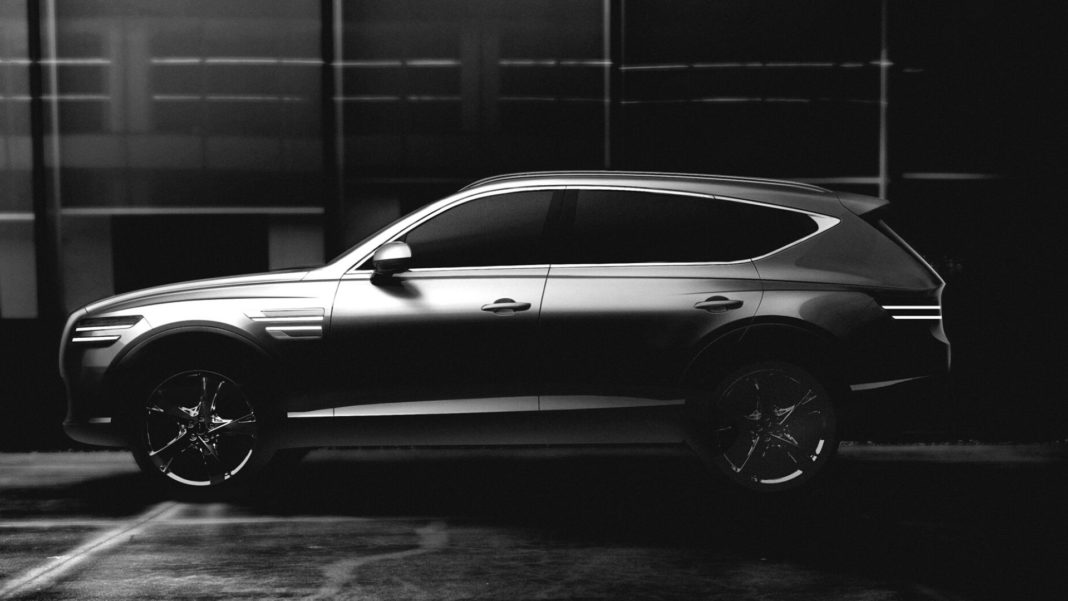 Genesis Gives First Look At The GV80 SUV