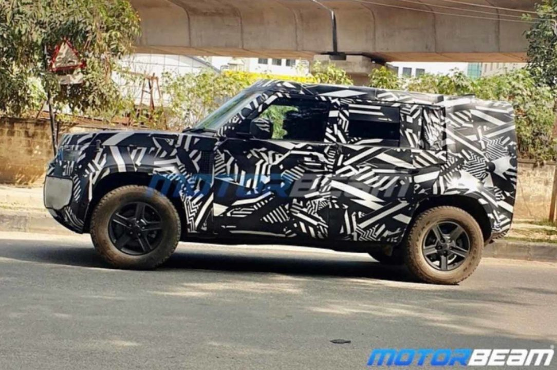 Land Rover Defender 110 Spotted Testing In India, Launch In 2020