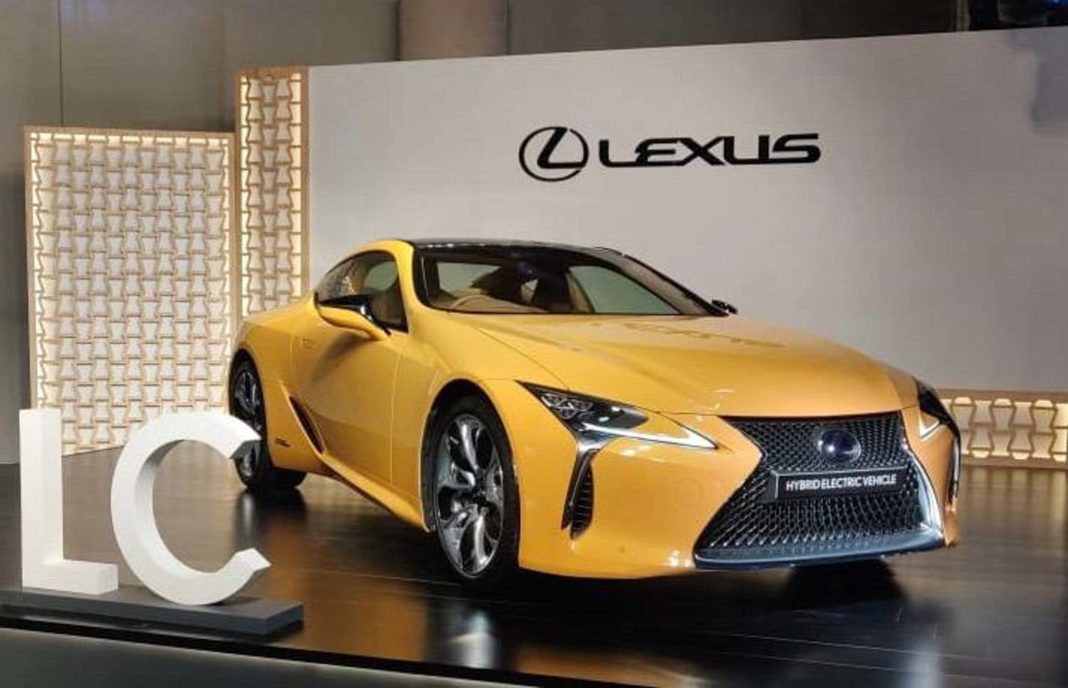 Lexus LC 500h Launched In India 4