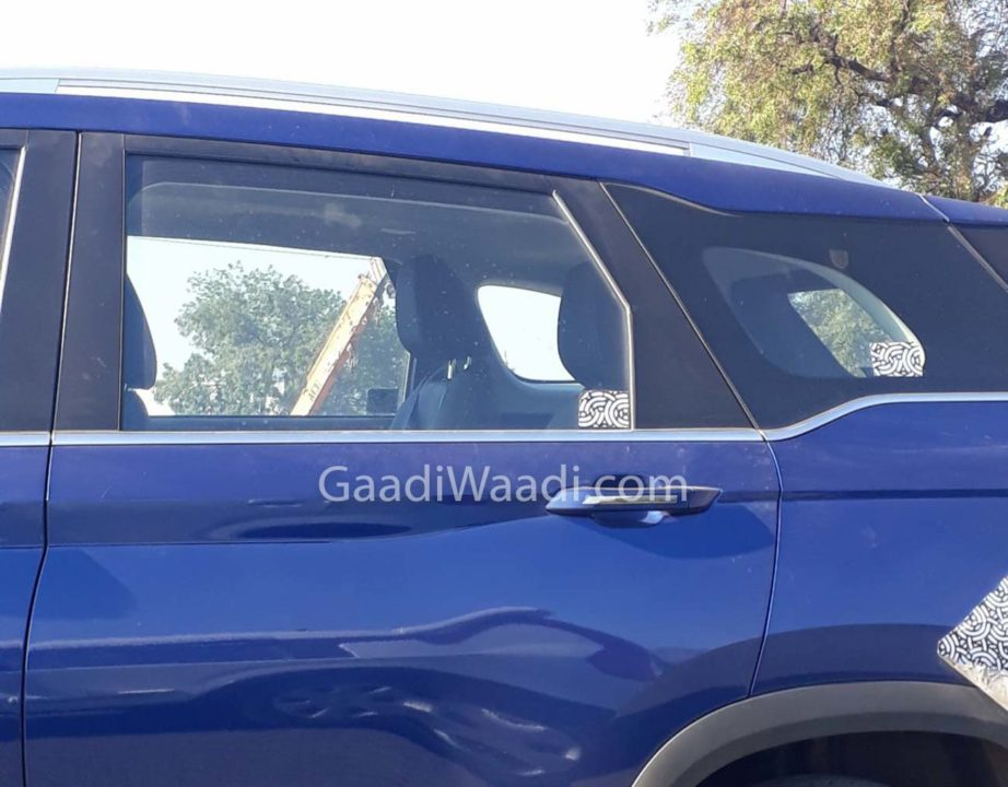 MG Hector Plus Spied 1