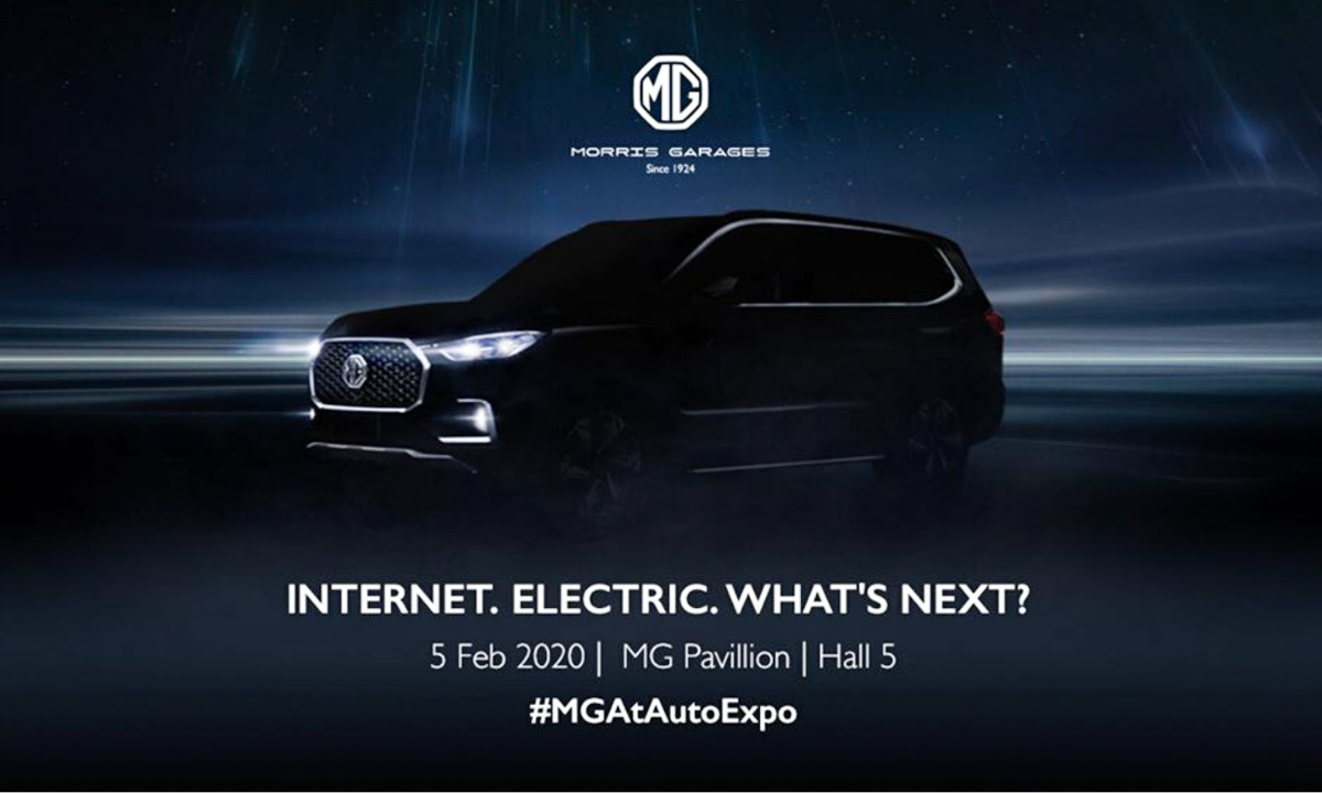 2020 - [Inde] Auto Expo - The Motor Show 2020 MG-Maxus-D90-Teaser-2
