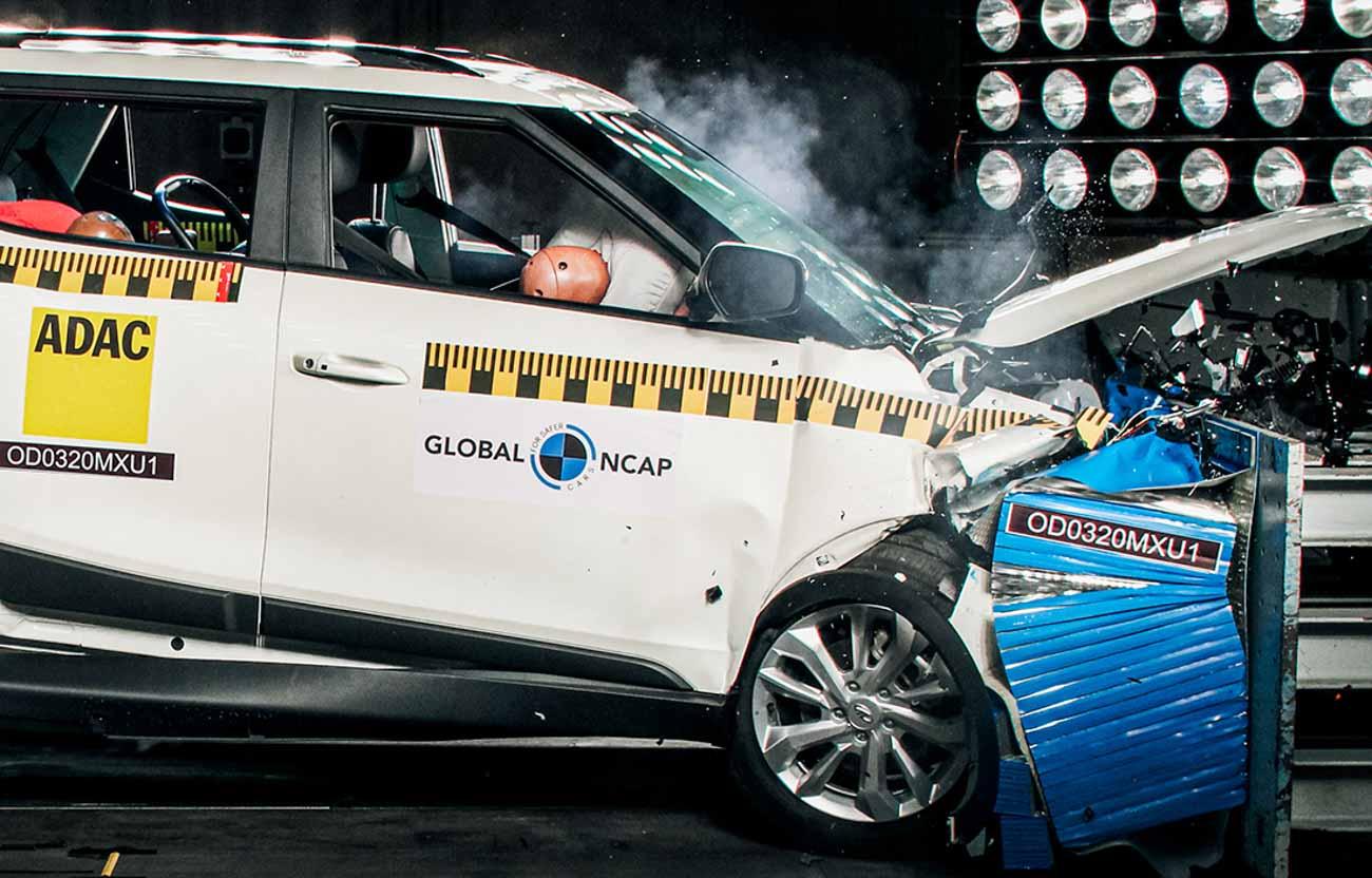 Mahindra XUV300 Awarded 5 Stars In Global NCAP Crash Tests