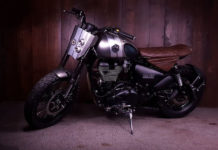 Modified Royal Enfield Thunderbird X-3