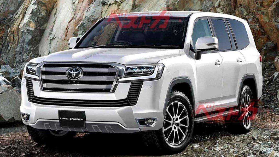 New genertion Toyota Land Cruiser