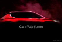 Nissan B-SUV Teaser