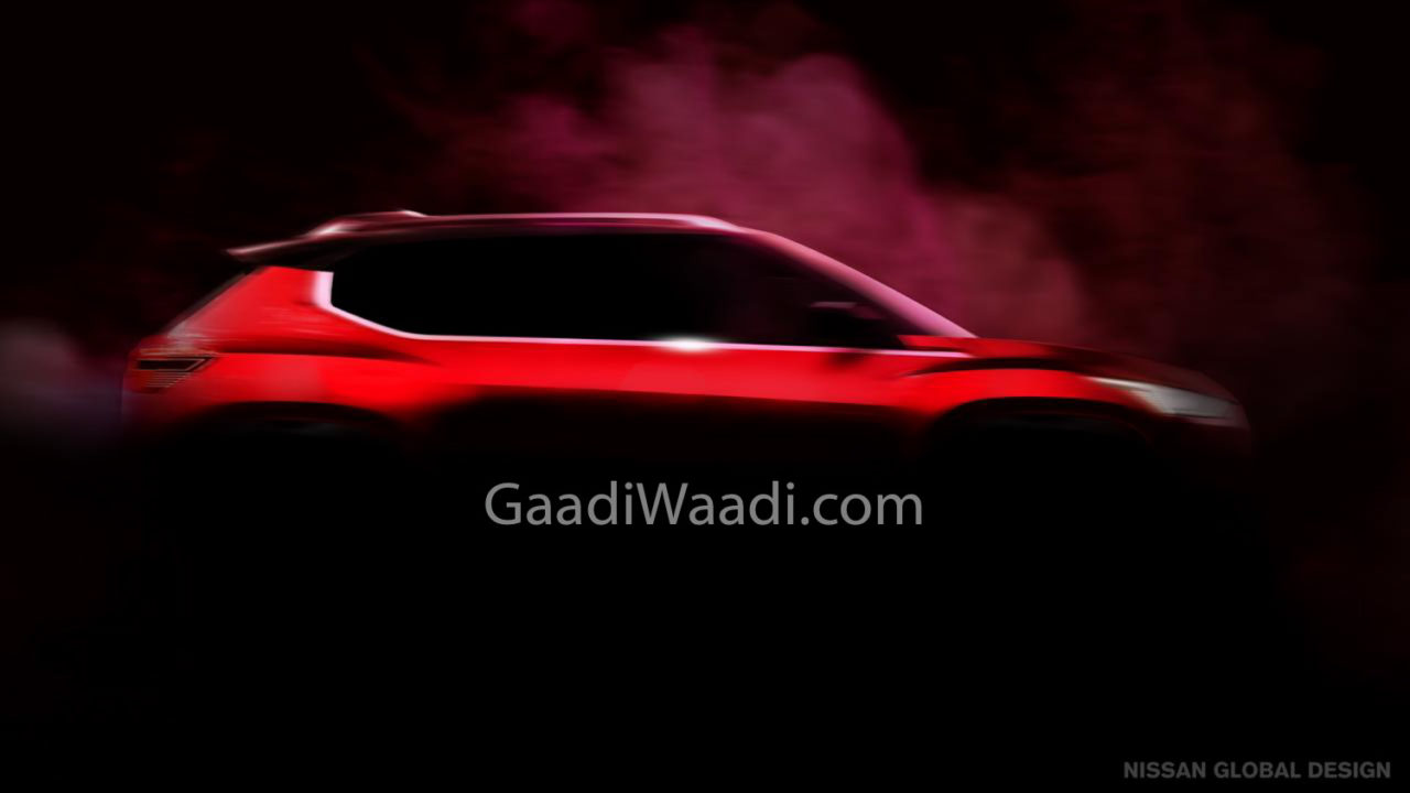 Nissan Compact SUV Teased_