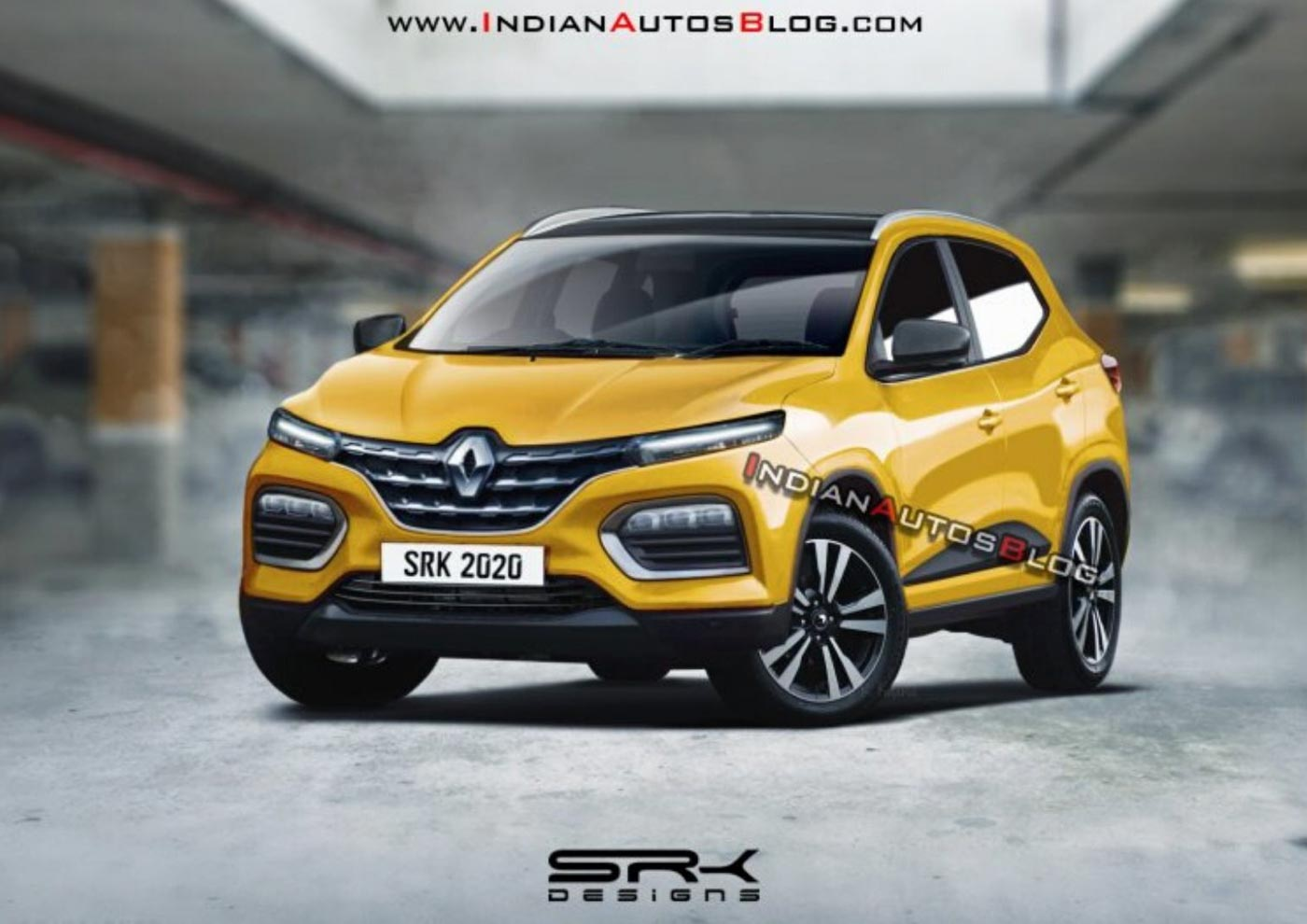 Renault Kiger HBC (Triber Based) Compact SUV Imagined In New Rendering