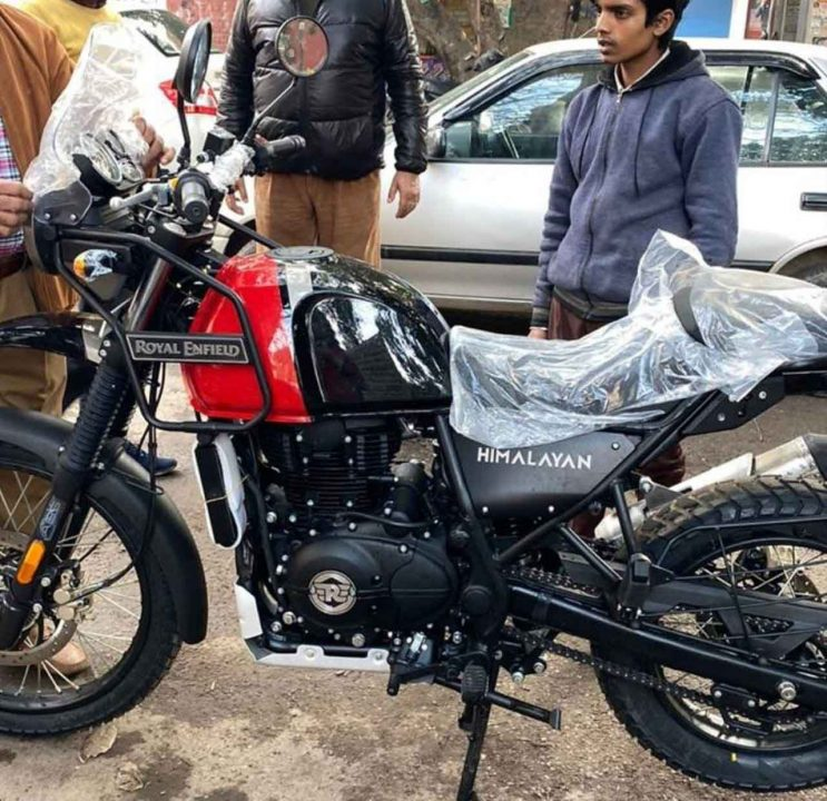 Royal Enfield Himalayan BS61