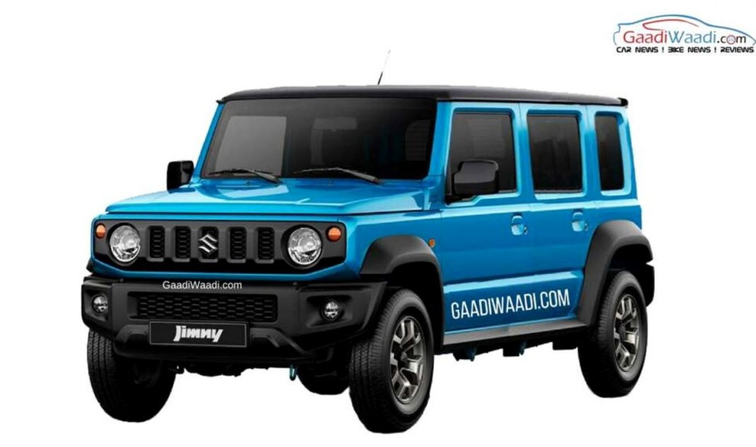 Suzuki Jimny 5-pintu (gaadiwaadi.com)