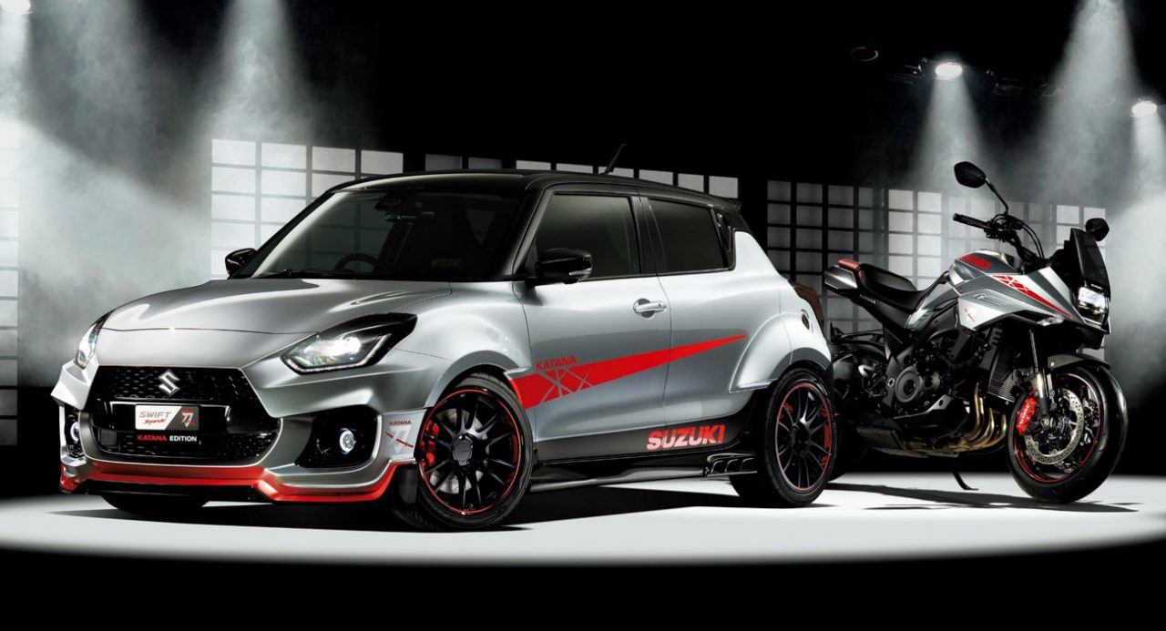 Ultra-Impressive Suzuki Swift Sport Katana Edition Debut At TAS 2020
