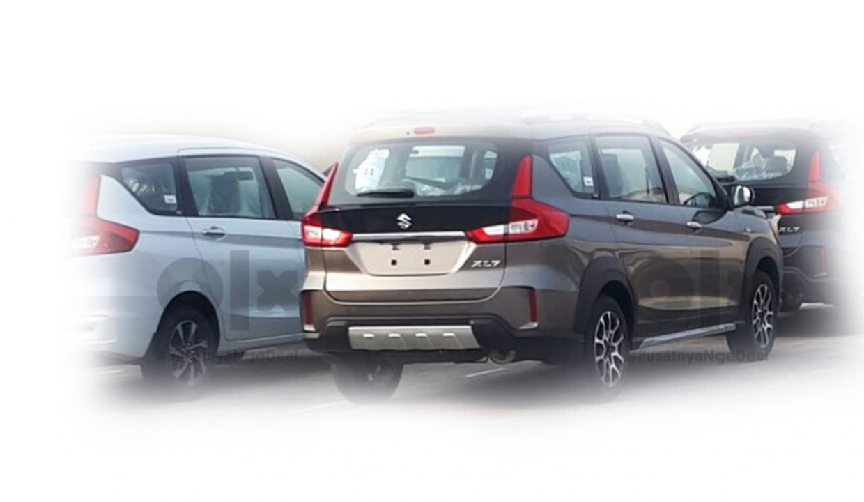 Suzuki XL7 MPV Spied Without Camouflage, To Launch In Indonesia Soon