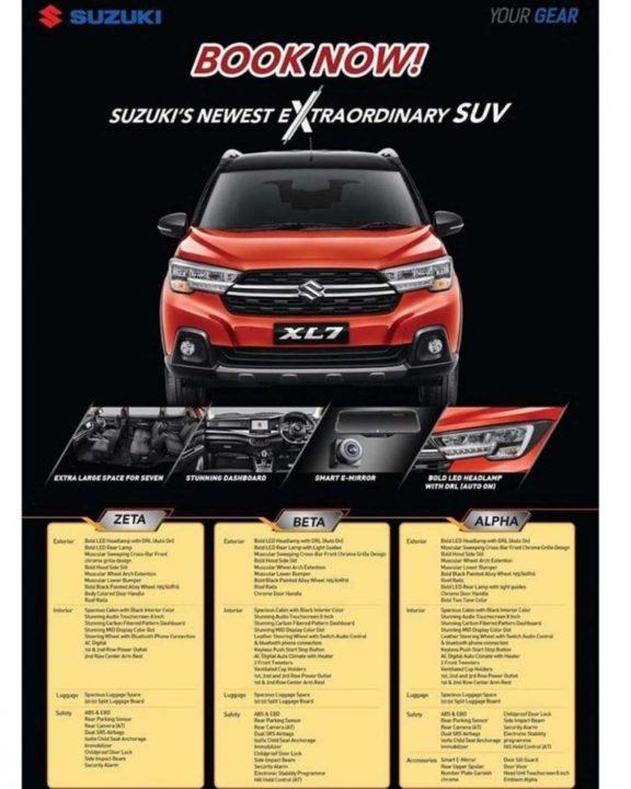 Suzuki XL7 Brochure