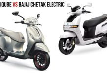 TVS Iqube Vs Chetak Electric