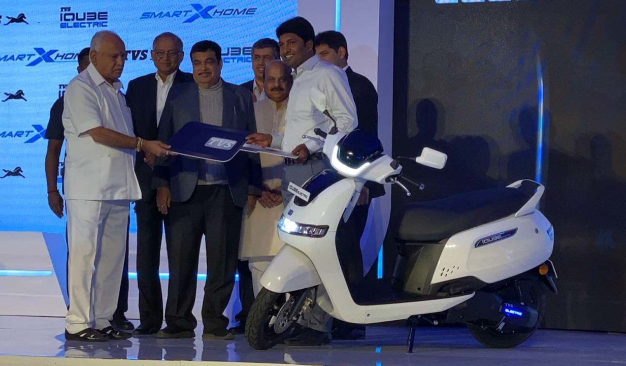 TVS iQube Launched India 2