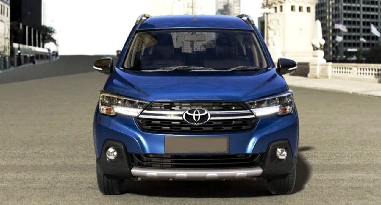 Toyota Ertiga MPV Rendered