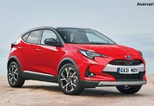 Yaris Based Crossover Rendering-1-6