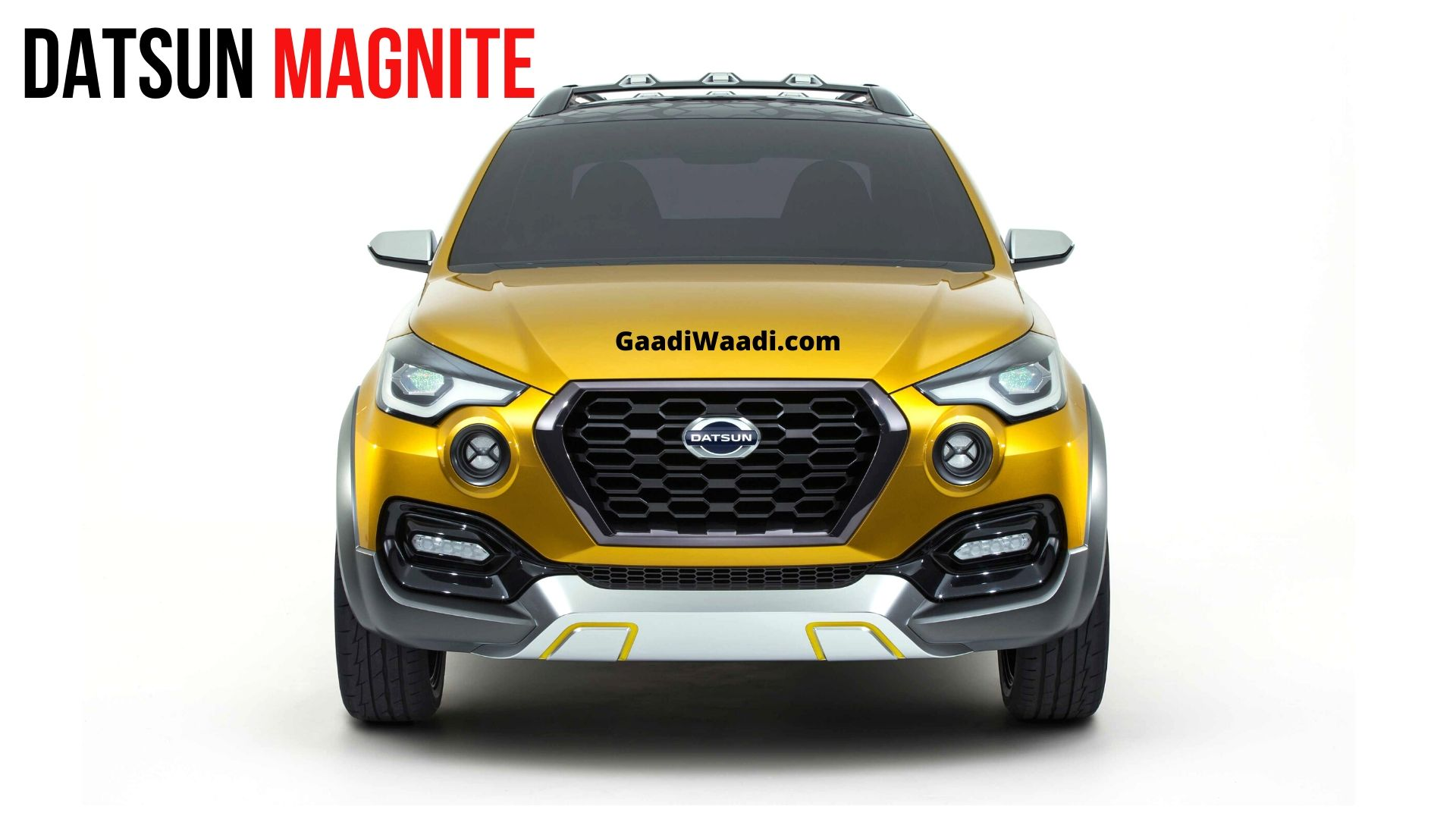 Datsun Magnite Compact SUV To Launch This Year
