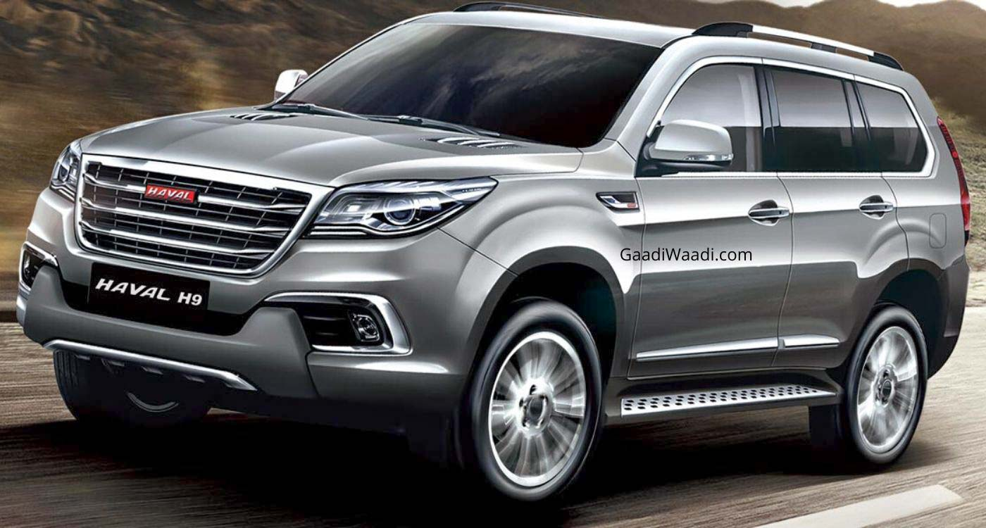 Great Wall Motors To Debut Haval H9 At 2020 Auto Expo