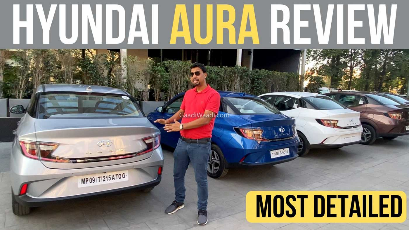 Hyundai Aura First Drive Review: Ticks All The Right Boxes