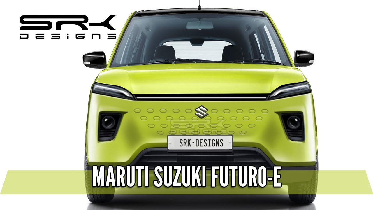 Upcoming Maruti Suzuki Futuro-E EV Rendered With Futuristic Design
