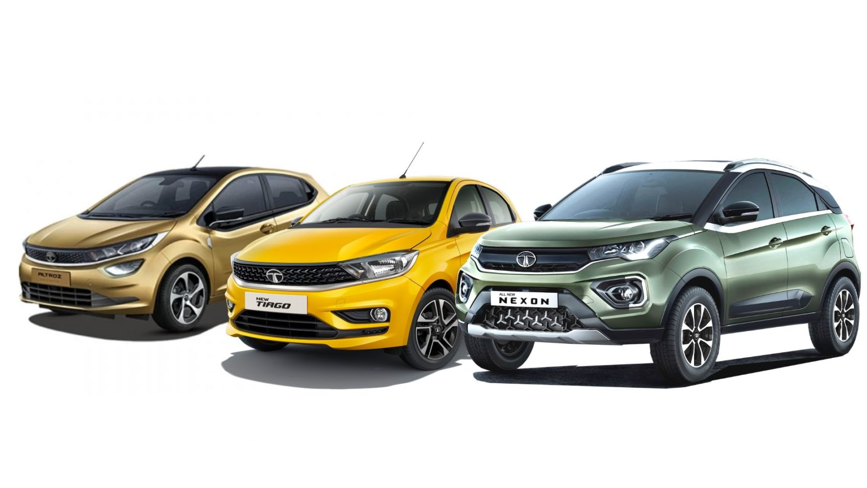 Tata Altroz, Nexon Facelift, Tiago Facelift & Tigor Facelift Launch Today