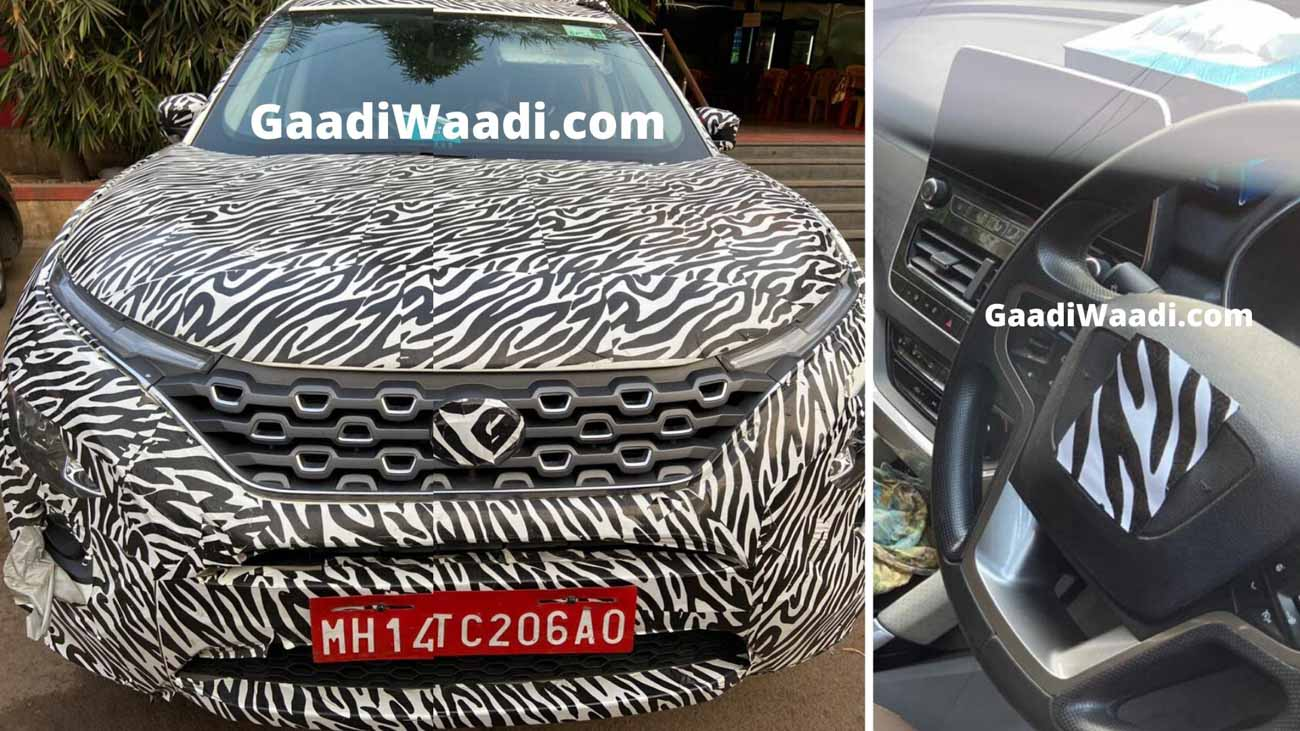 Tata Gravitas Interior Spied In Clear Pics; Launch In Early Feb