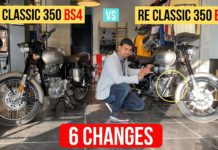 BS4 RE Classic 350 Vs BS6 Classic 350 - Key Changes Explained In Video