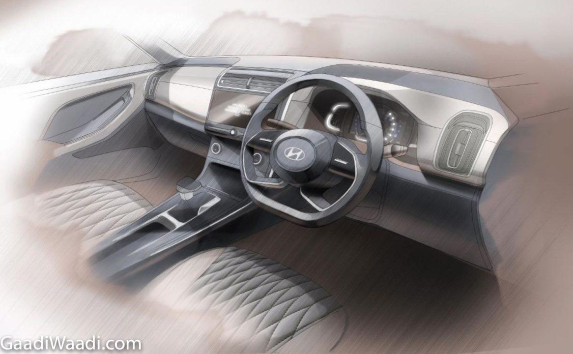 2020 Hyundai Creta Interior Teased
