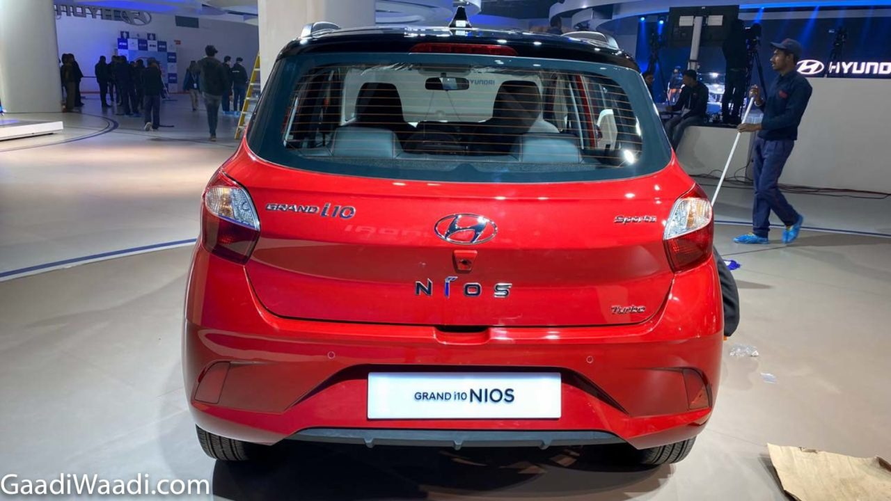 2020 Hyundai Grand i10 Nios Turbo Rear
