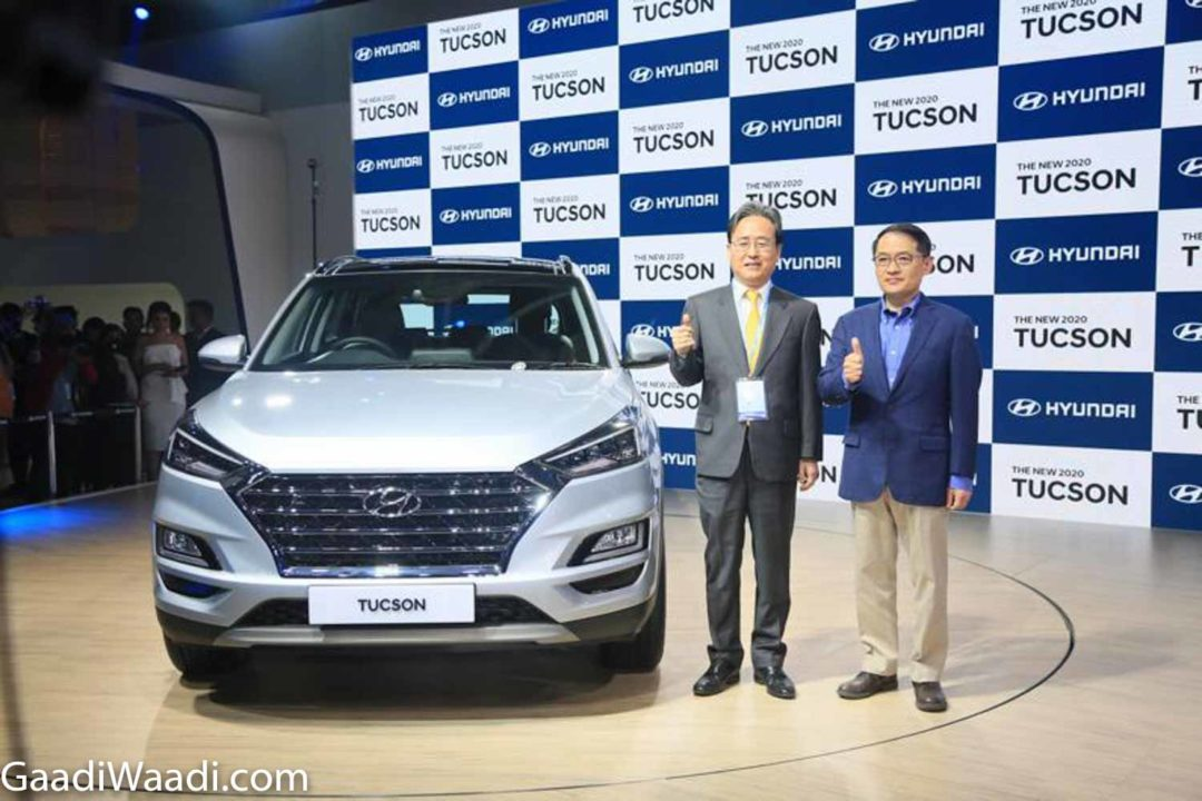 2020 Hyundai Tucson Launched Auto Expo 3