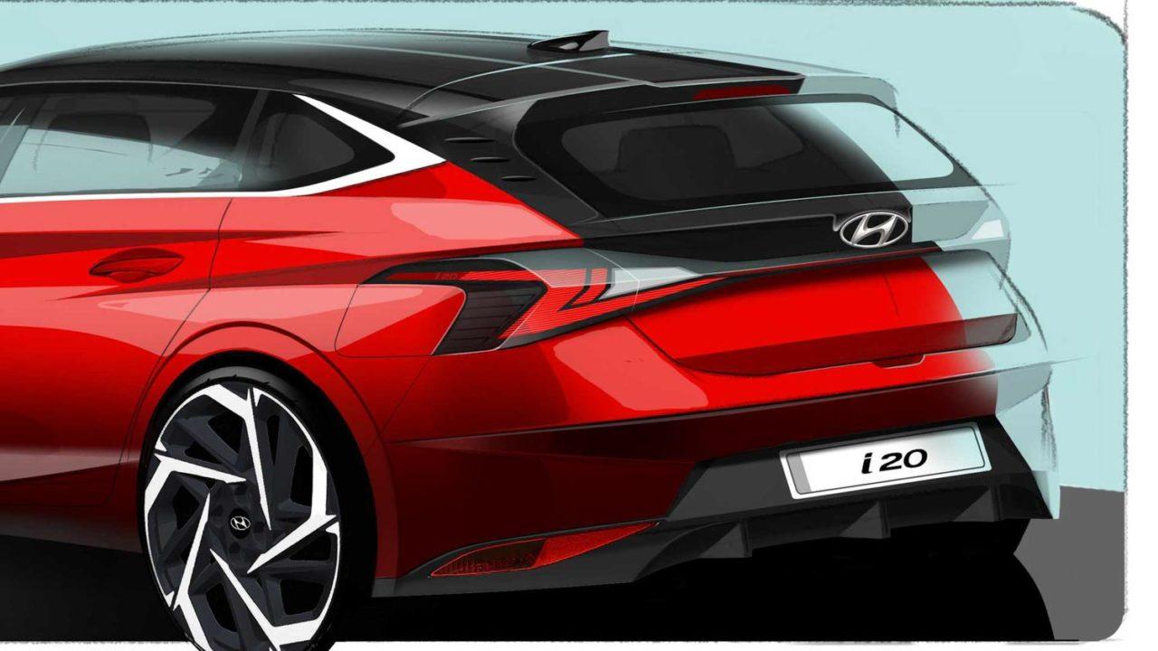 2020 Hyundai i20 Rear Teaser